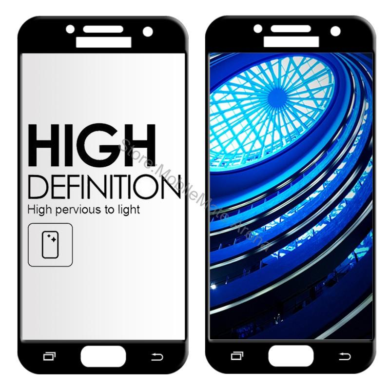 Full-Screen-Tempered-Glass-For-Samsung-A5-2017-A520F-Screen-Protector-Film-2-5D-Edge-Curved (3)(1)