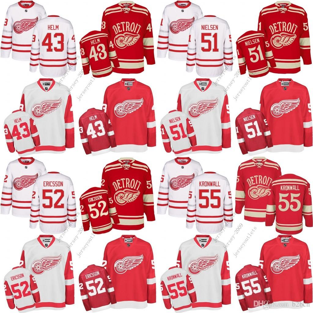8e609ecc9 ... 2017 MenS Detroit Red Wings 43 Darren Helm 51 Frans Nielsen 52 Jonathan  Ericsson 55 Niklas ...