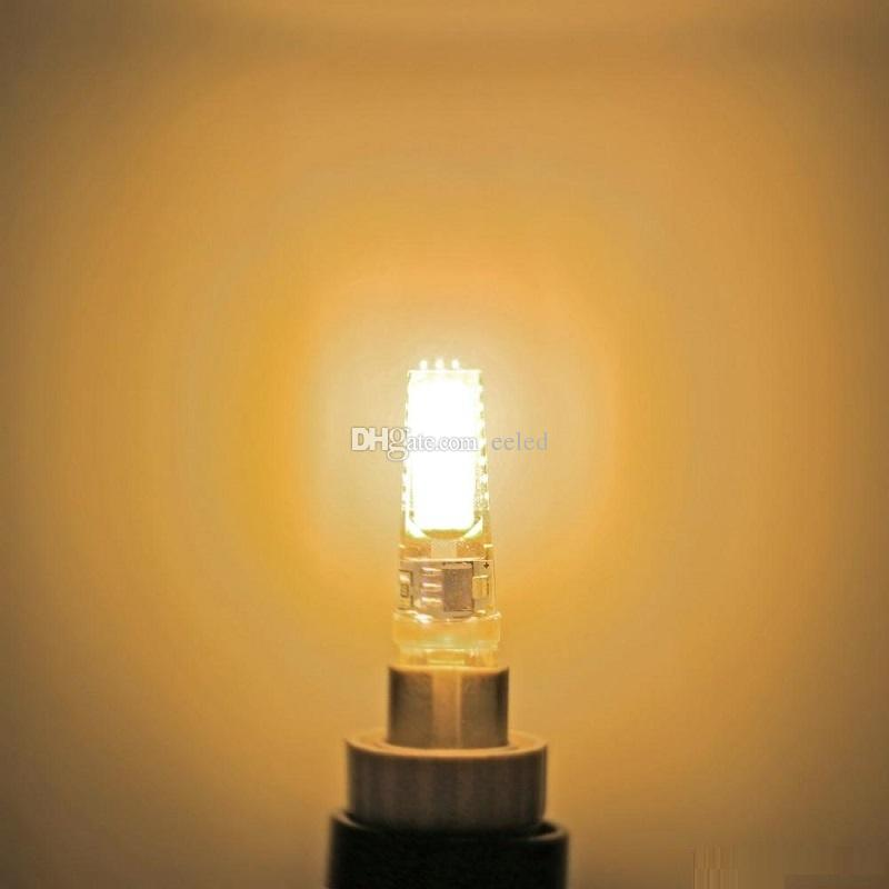 Mini G9 COB LED Corn Light AC 220V 110V 5W Silicon Bulb Warm White Cool White Bright Spotlight Chandelier Lighting