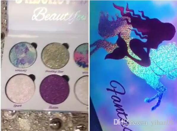 En iyi fiyat ile en kaliteli! Aşk Luxe Güzellik Fantasy Paleti Makyaj İnanılmaz Güzel Vurgulayıcılar Göz Farı 6 Renkler ücretsiz DHL