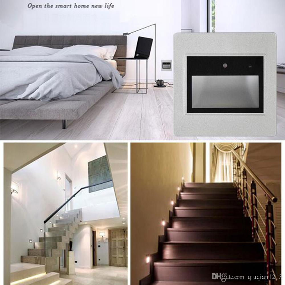 2018 06w wall plinth stairs light sound light control hallway 2018 06w wall plinth stairs light sound light control hallway walkway led footlight voice sensor intelligent lamp bar aisle lamps from qiuqian1213 aloadofball Gallery
