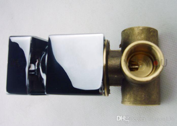 BLL en estilo montado en la pared fregadero del cuarto de baño grifo mezclador de latón NY03311