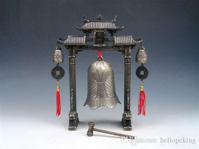 En gros pas cher tibétain Percussion Brass cloches Tibet dragon glockenspiel