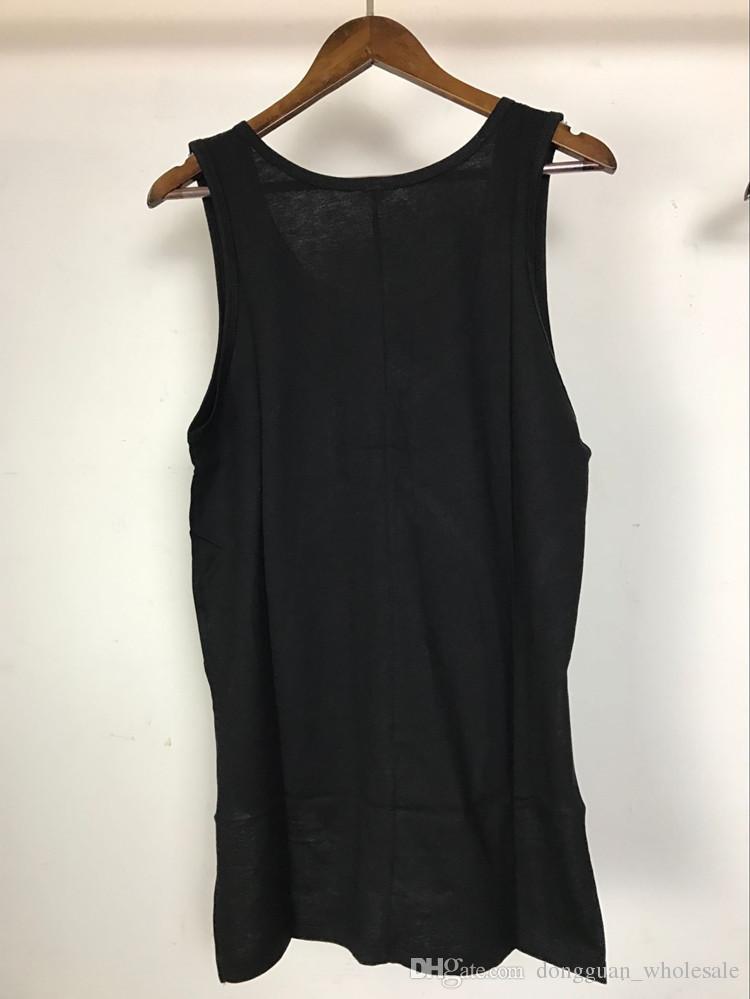2017 hombres verano miedo de dios diseño camiseta sin mangas de alta calidad harajuku chaleco casual para hombre justin bieber camisa sin mangas gimnasio regata