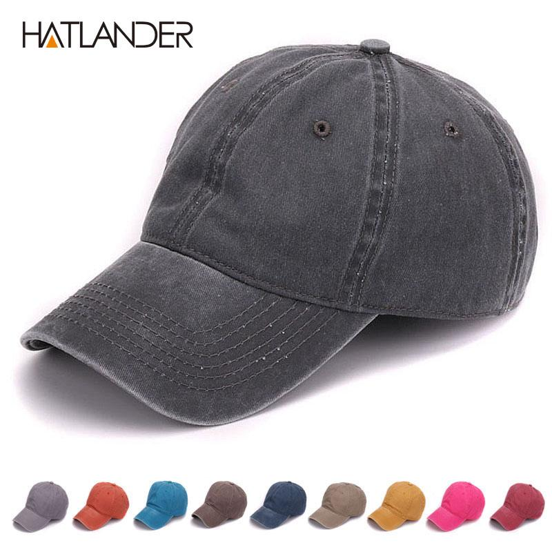 f15d34b4fd3a1 Hatlander Plain Dyed Sand Washed 100 %Soft Cotton Cap Blank Baseball Caps  Dad Hat No Embroidery Mens Cap Hat For Men And Women 59fifty Snapback Cap  From ...