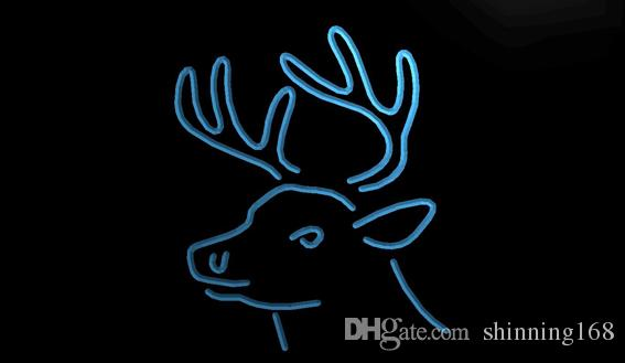 2019 LS1840 B Deer Head Hunting Home Decor Neon Light SignJpg From Shinning168 1099