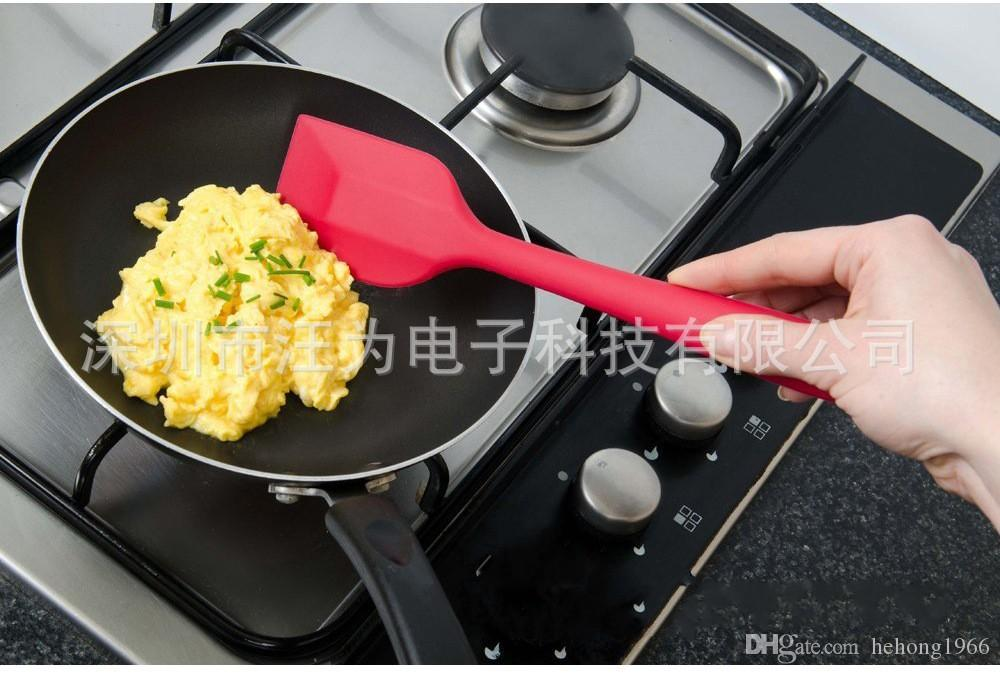 Nokta Kaynağı Silikon Tencere Seti 5 Parça Takım Mutfak Gereçleri Olmayan Sopa Kek Fırça Silikon Kazıyıcı Pişirme Araçları 16 ...