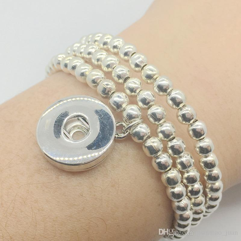 New 20pcs Lot Different Style Snap Charm Silver Bracelet Fit 18mm Ginger Snaps