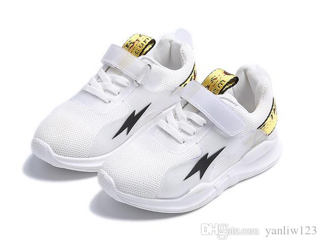 Girls sneakers Latest Spring and Summer Fall Children's Shoes Boys and Girls White&red&black&blue Solid Color Canvas Sneakers