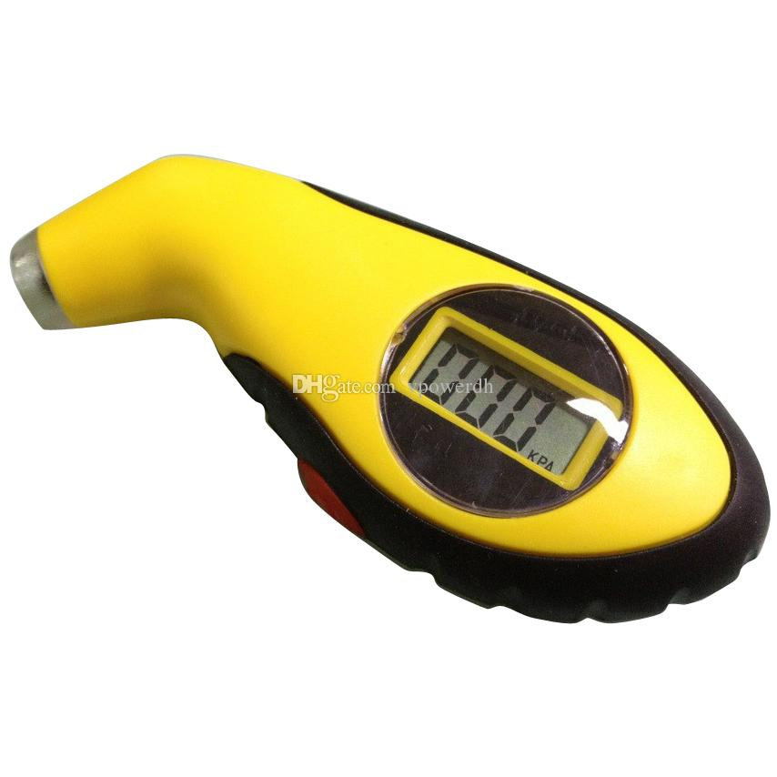 LCD Digital Pneu Medidor De Pressão De Ar Do Pneu Tester Ferramenta Fr Auto Car Motorcycle M00095 VPWR