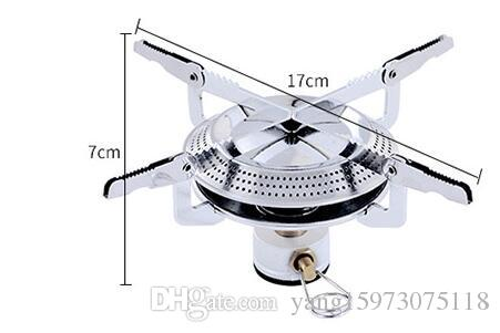 AOTU Hiking Camping Sport Grill Head Portable Stove Head Disc Gas Stove Gas Stove Outdoor Flat 147