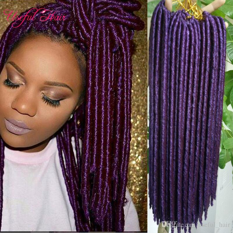 50 New Fake Dreads Hairstyles