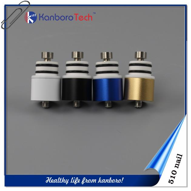 E-cigarette échantillon gratuit 510 ongles avec quartz Nail Wax vaporisateur dab stylo pour tampons magnétiques en céramique ecigarette ..