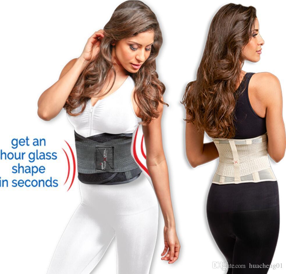 2fe4b236a28e7 Genie Hourglass Belt Waist Trainning Shapewear For Women Body In Shape  Fitness Slimming Belt By DHL Tummy Slim Belt Slim Belt For Men From  Huacheng01