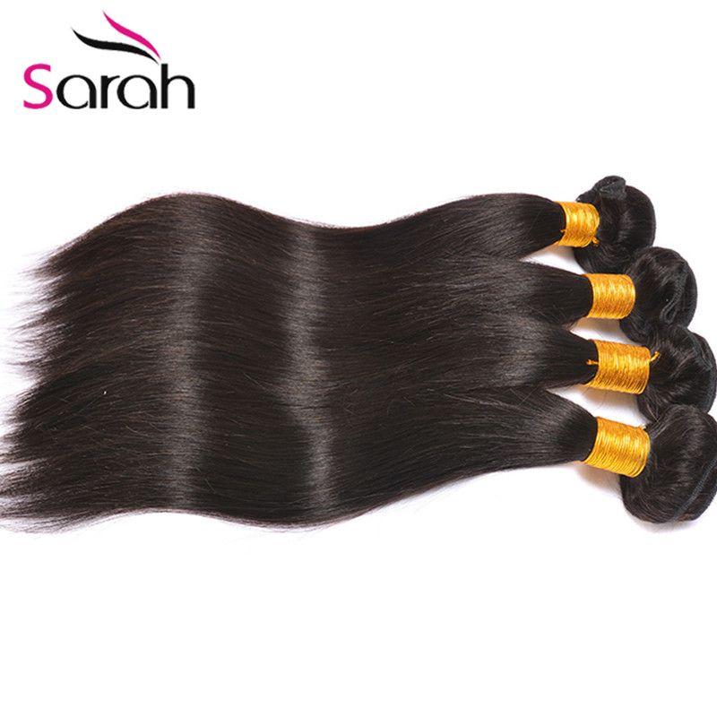 4Bundles Brazillian Straight Weave Beauty Grace Hair Products Cheap Brazilian Human Hair Weave 7A Brazilian Virgin Hair Bundle Deals