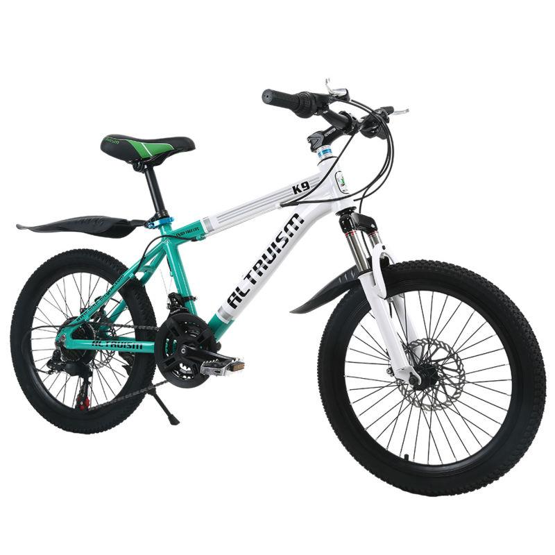 eca2f798d74 ALTRUISM K9 20 Inch 21 Speed Mountain Bike Bicycles Child Aluminum Double  Disc Brake Bike Children Bicycle Kid Bikes Orbea Bikes Ridley Bikes From ...