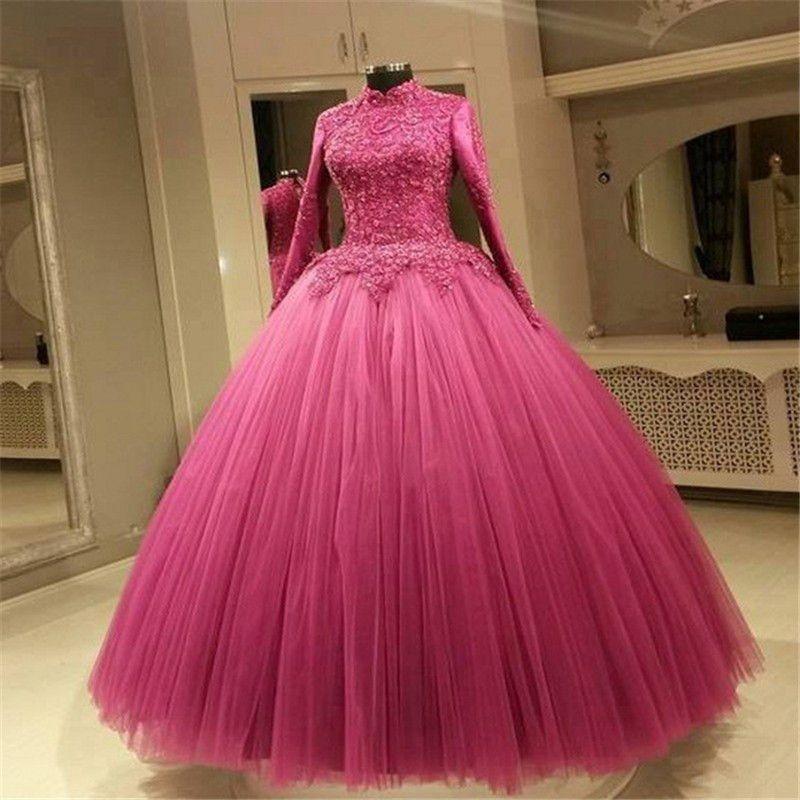 Compre Precioso Vestido De Boda De La Princesa Ball Vestidos De ...