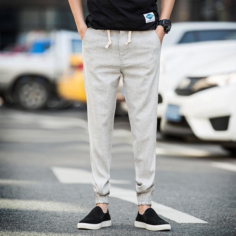 Acheter Gros 2017 Date Swag Vêtements Vêtements Joggers Mode Hommes Hip Hop  Longue Rayure Gris   Noir Skinny Fit Pantalon De Mode Biker Joggers De   30.24 Du ... a263676bade