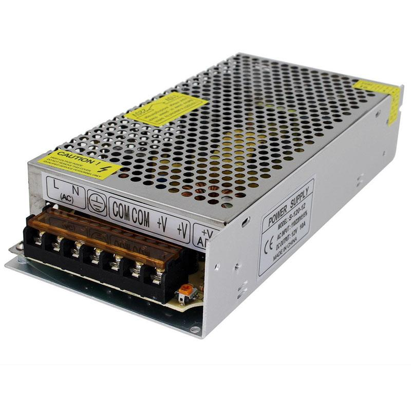 12V LED adaptador de transformador de fuente de alimentación convertidor 2A 3A 5A 8.3A 10A 12.5A 15A 20A 25A 30A 24W-360W para módulos de tira cadena barra de neón