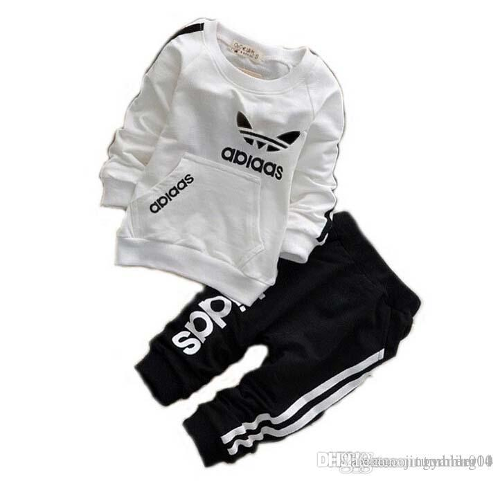 Ad Baby Boys Girls Tracksuits Kids Brand Tracksuits Kids Coats Pants