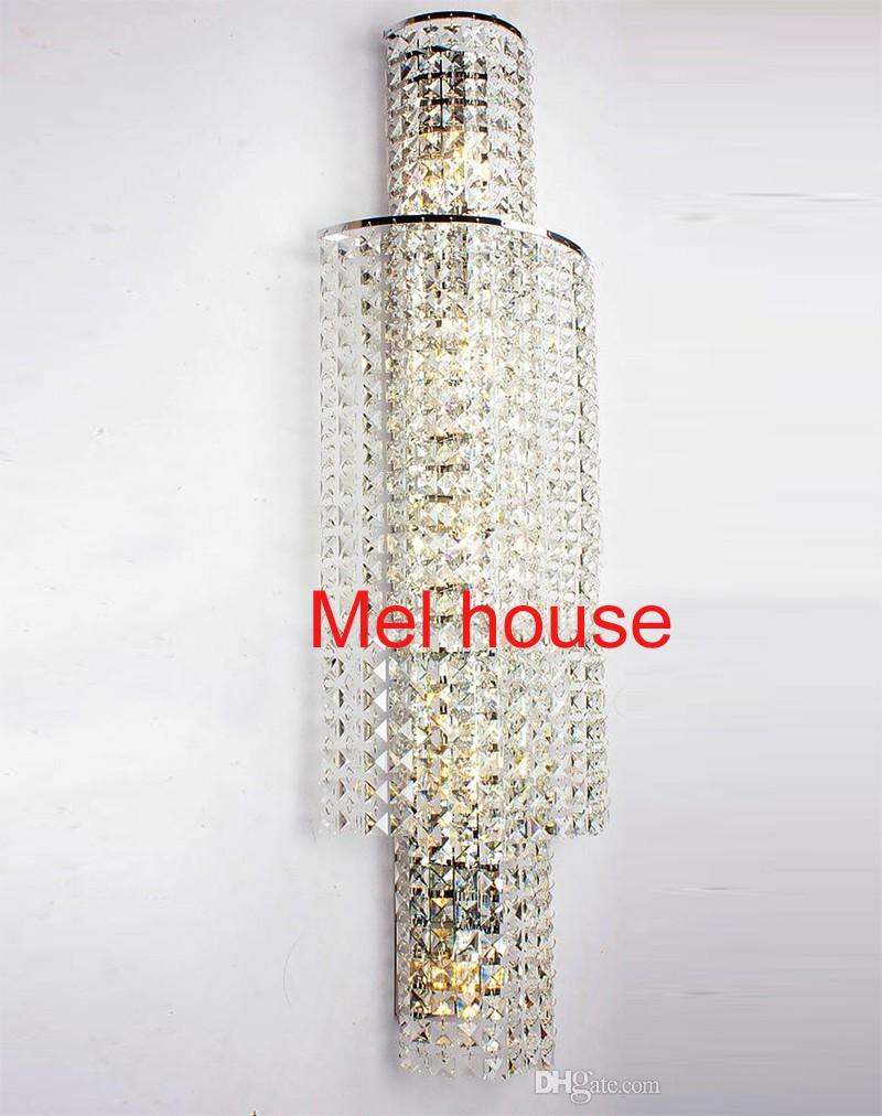 LED Wandleuchten 110-220V wohnkultur toilette badezimmer dekorative wandleuchte moderne kristall wandleuchten Bild Display Mall hotel halle Licht