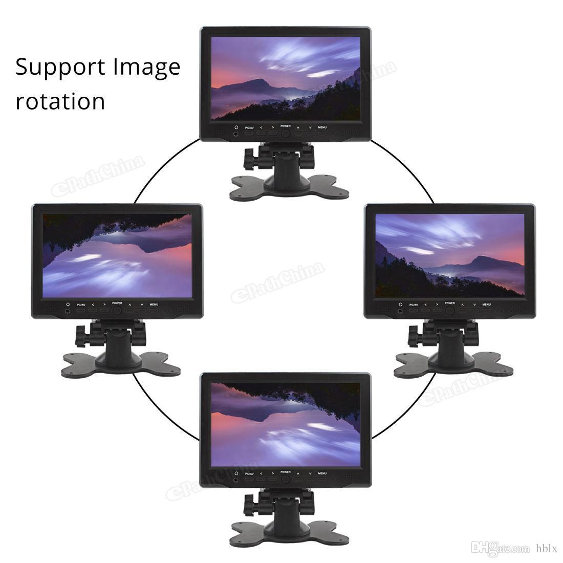 800 × 480 7 بوصة لون مشرق واجهة HDMI TFT LCD AV VGA رصد سيارة CMO_308