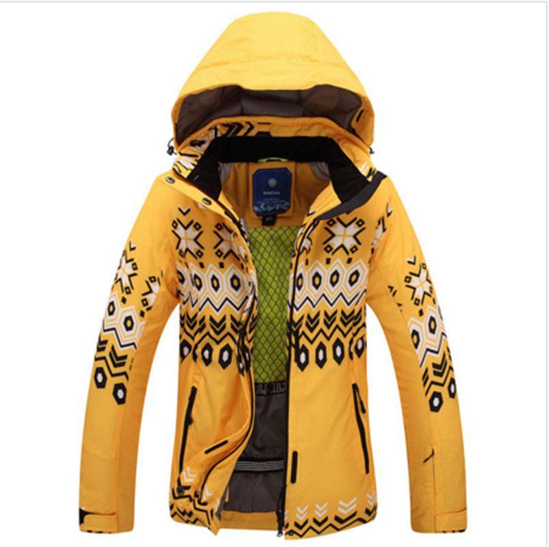 2019 Hot Sale Women Skiing Jacket Windproof Waterproof Outdoor Sport Wear  Thicken Thermal Super Warm Clothing Female Snowboard Coat From Llh521513 5b9b8ecf6