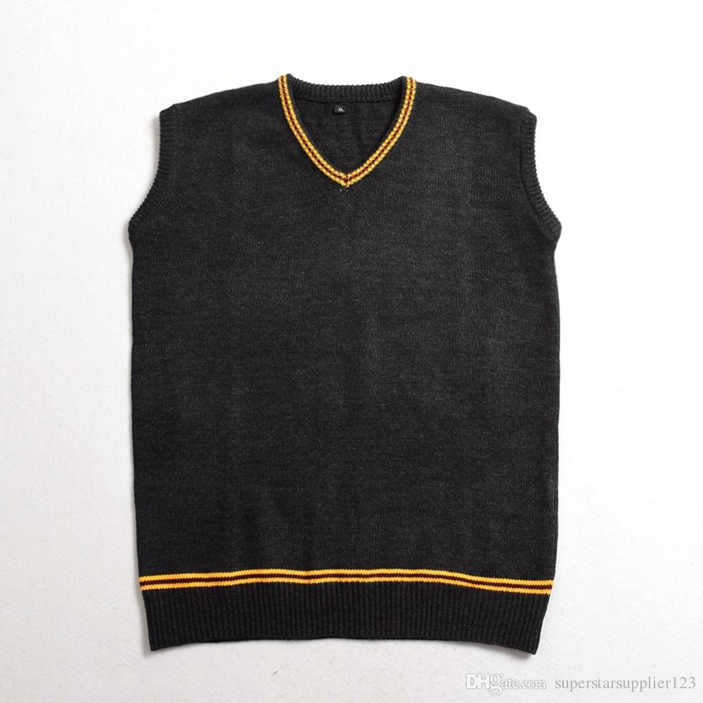 High Quality Harry Potter Sweater Cosplay Costume Hufflepuff
