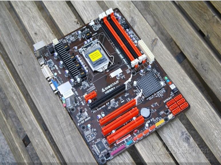Scheda madre originale al 100% per schede madri Biostar H55A + LGA 1156 DDR3 RAM 16G