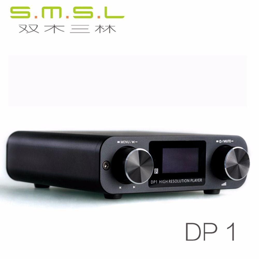Freeshipping HIFI Lossless Player AK4452 Audio USB DAC Decoding Digital  Turntable Headphone Amplifier SD Card/Optical/USB Input DC9V