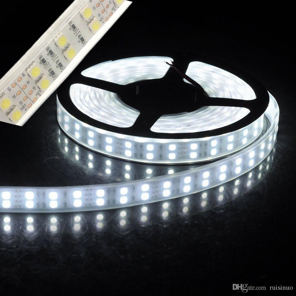 Led strip lights great led strip lights with led strip lights fabulous led strip light smd double row leds m dcv waterproof with silicone tube ip daylight white warmwhite red green blue rgb led tape smd led with led aloadofball Images