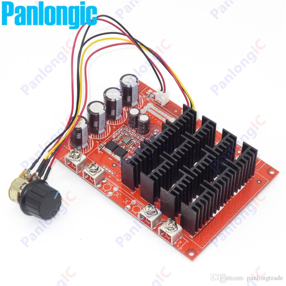New 10 50v 60a Dc Motor Speed Control Pwm Hho Rc Controller 12v 24v Behind Selecting Frequency For Of A 48v 3000w Max High Quality Online With 2036 Piece On
