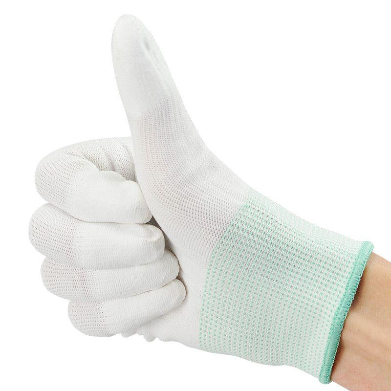 Anti Static Antiskid Glove ESD Electronic Labor Worker Computer Phone RepairNYF