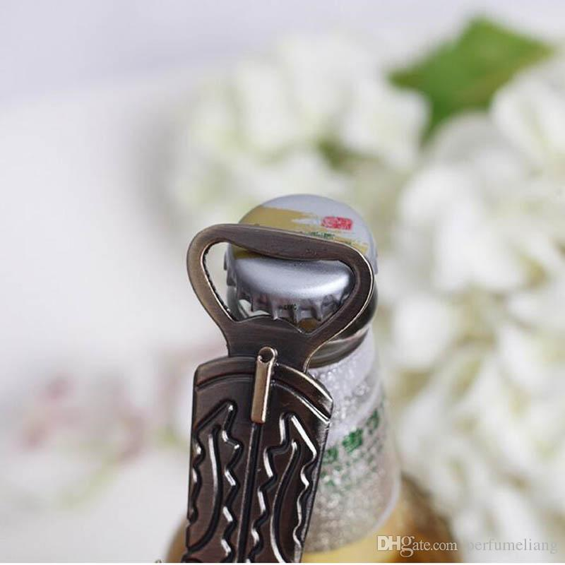 Creative Bottle Opener Hitched Cowboy Boot Western Compleanno Matrimonio Bomboniere e regali Partito carino strumento