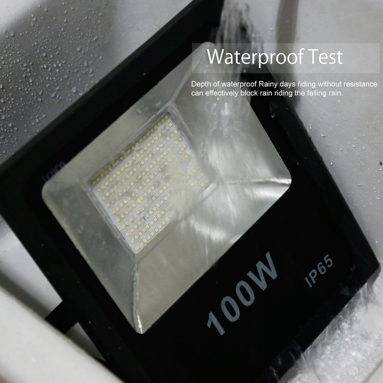 10W 20W 30W 50W 100W في الهواء الطلق الصمام الأضواء الكاشفة IP65 للماء الأضواء الكاشفة الجدار حزمة مصباح AC 85-265V