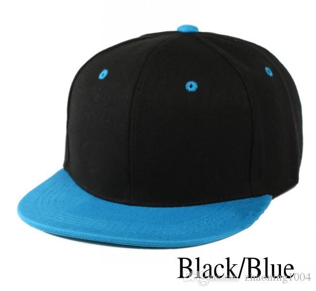 Designer Plaine Hip Hop Chapeaux Réglable Snapback Personnalisé Broderie Impression Logo Blanc Plat Bord Brimmed Casquettes De Baseball Pour Adultes Hommes Femmes Vente