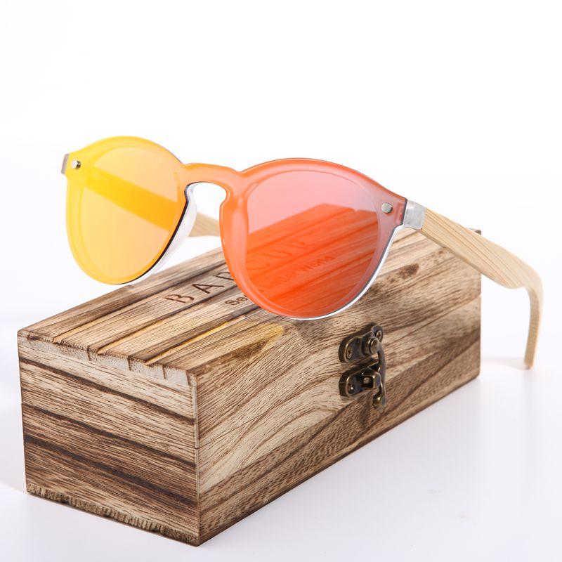 2021 BARCUR Cat Eye Sunglasses Bamboo Men New Cat Eye Glasses pra Sun glasses for women Googles Red Sunglasses Fishing Eyewear