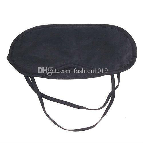 wholesale Hot High quality Travel Aid Eye Mask Sleep Sleeping Shade Cover Nap Light Soft Rest Blindfold New