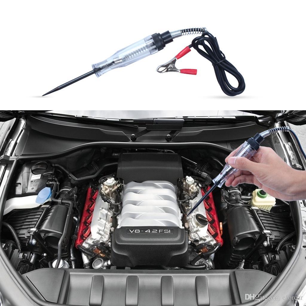 Outil de diagnostic électrique professionnel d'appareil de contrôle de circuit d'affichage à cristaux liquides de voiture de voiture pour des véhicules à moteur