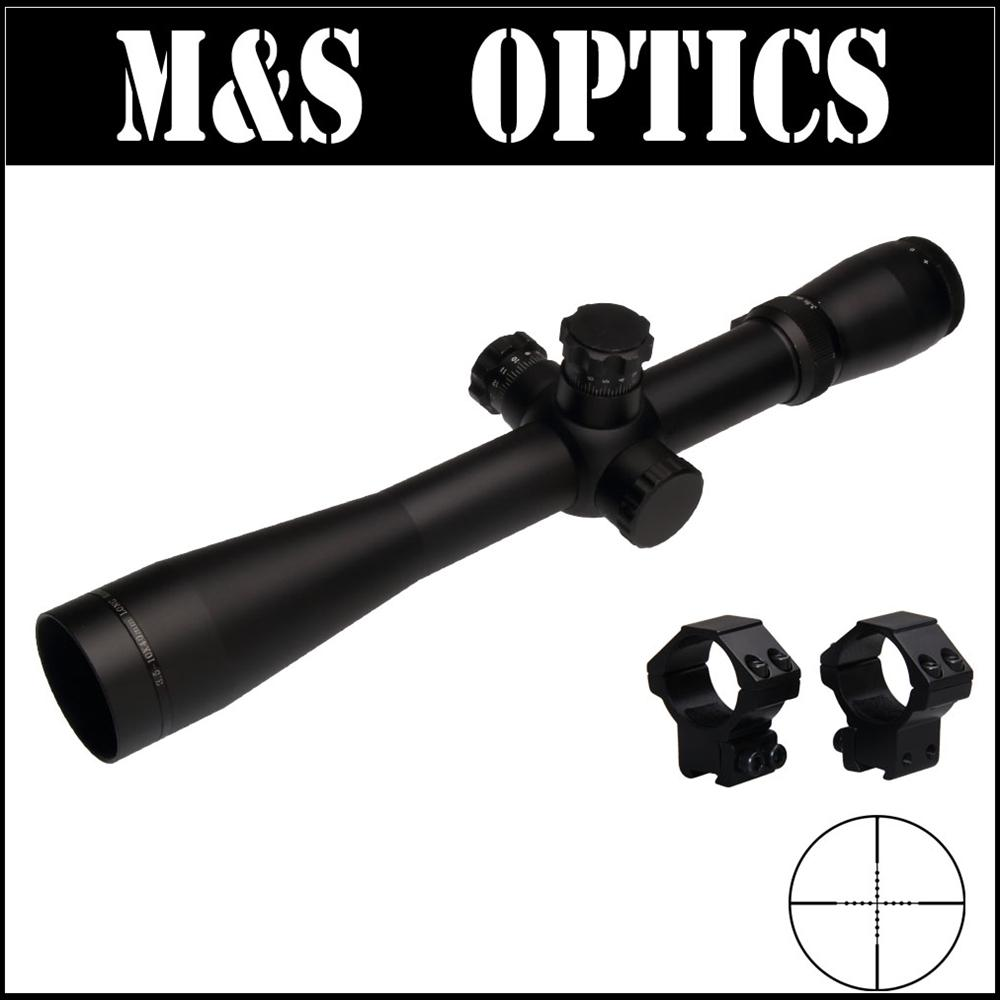M1 3.5-10X40 SF AirsoftsSports Guns Rifles Sight Optical Hunting Scopes Sight With Riflescope Monturas