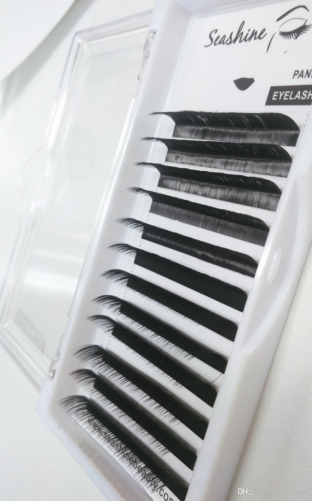 Korea Eyelash Extensions Individual Lashes For Building Mink Volume C/D/L Curl False Eyelashes High Quality