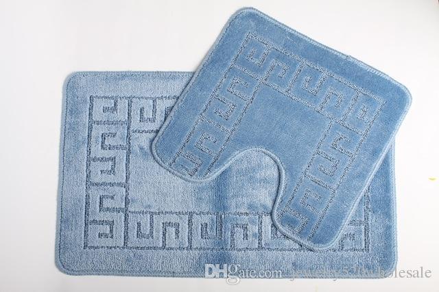 Acquista u mats e rectangle mats set tappeti il bagno anti slip