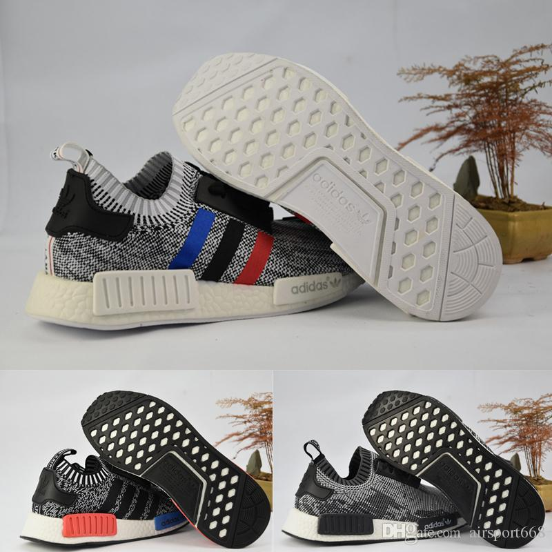 2017 Original Adidas NMD XR1 PK Running Shoes Cheap Sneaker XR2 Primeknit  OG PK Zebra Bred Blue Shadow Noise Duck Camo Core Running Shoes for Men  Basketball ...