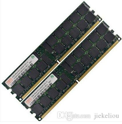 Server memory 4GB 2x 2GB DDR2 400MHz ECC REG 2GB 2Rx2-3200R RDIMM RAM for HP WorkStation XW8200 XW6200 DL380G4 ML570G3 Server