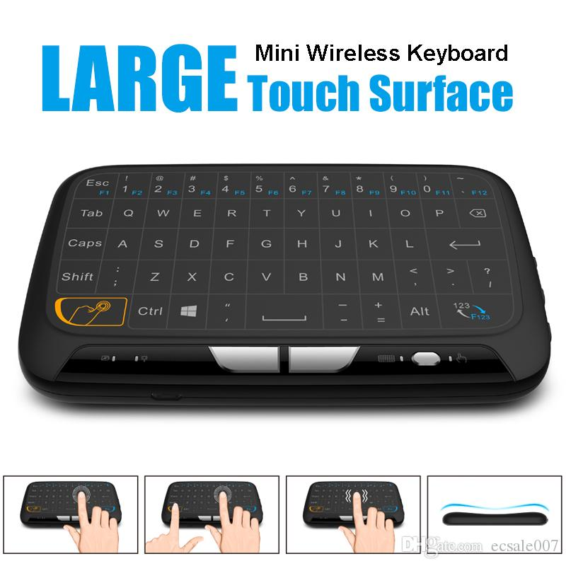 a36c8972606 H18 Mini Wireless Keyboard 2.4GHz Portable Keyboard With Touchpad Mouse For  Windows Android/Google/Smart TV Linux Windows Mac Rca Remote Controls Rca  Remote ...