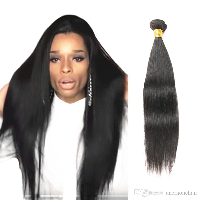 Anemone 8 36 Great Length Straight Brazilain Virgin Peruvian Human
