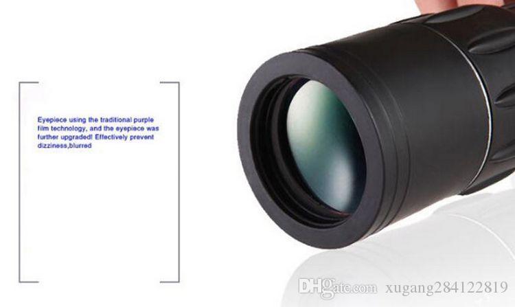 16 x 52 Dual Focus Zoom Monocular Binoculars Optic Lens Telescope Day Night Vision telescopio Binoculares for outdoor hunting