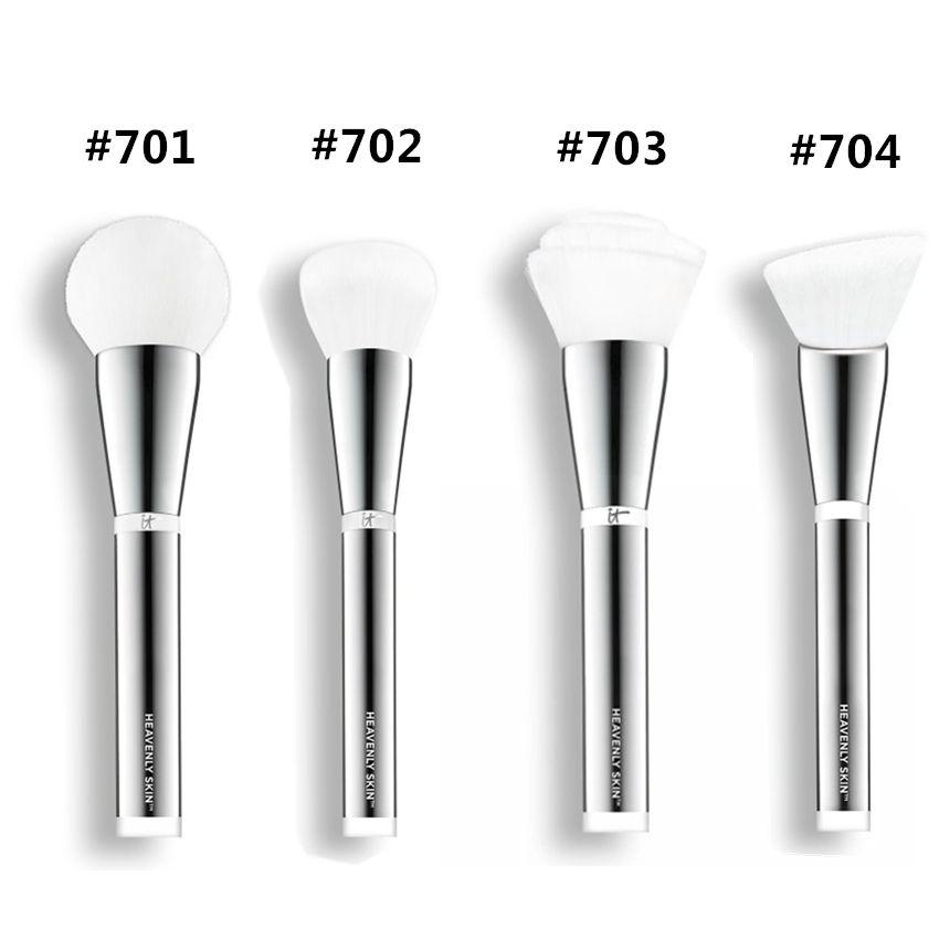 new elf brushes. new brand makeup brushes it cosmetics heavenly skin #701 #702 #703 #704 blending powder foundation contour make up brush kit tools. elf