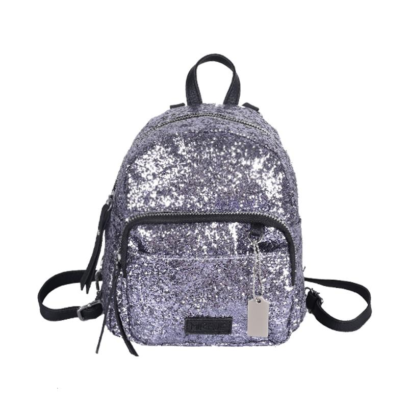 Wholesale Fashion Sequins Backpack Portable Mini Bags Ladies ...