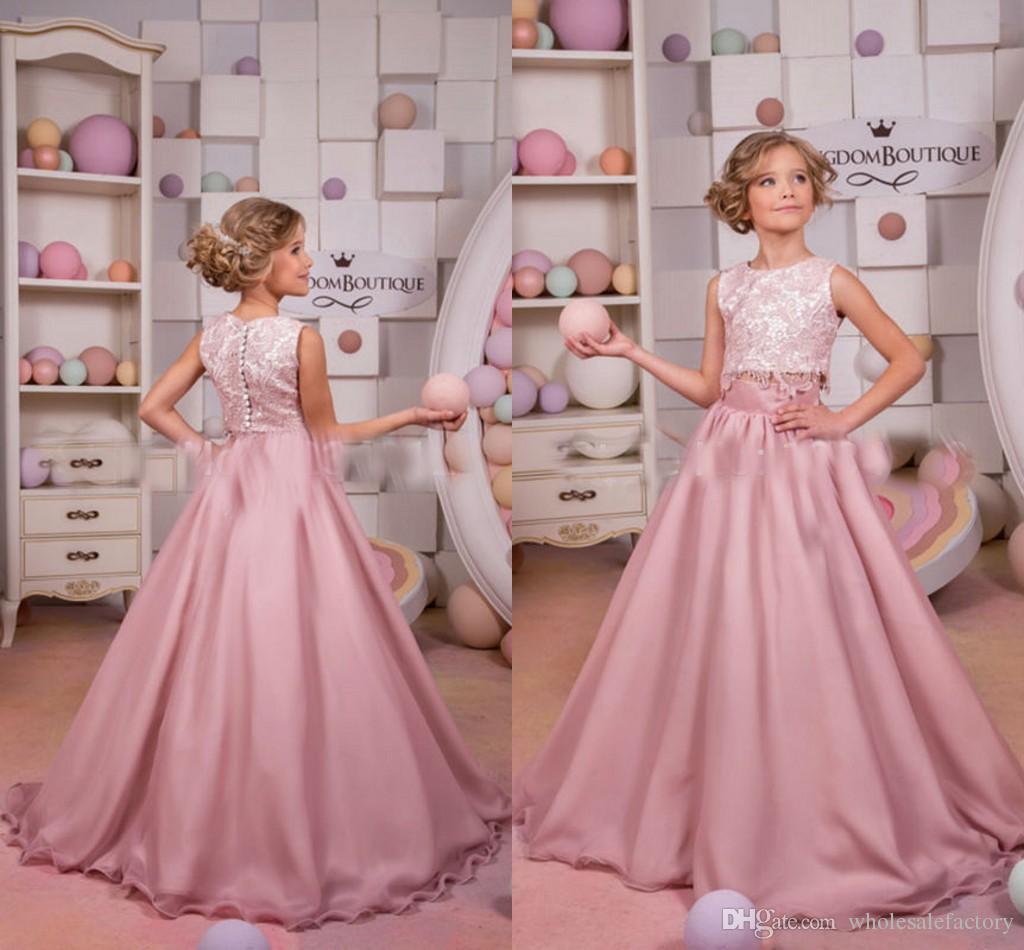 Lace Pageant Wear
